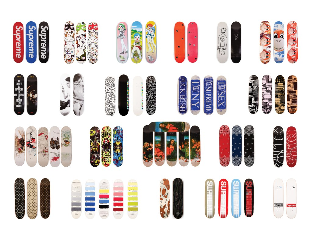 WHAT DOES ONE MILLION DOLLARS WORTH OF SUPREME DECKS LOOK LIKE?