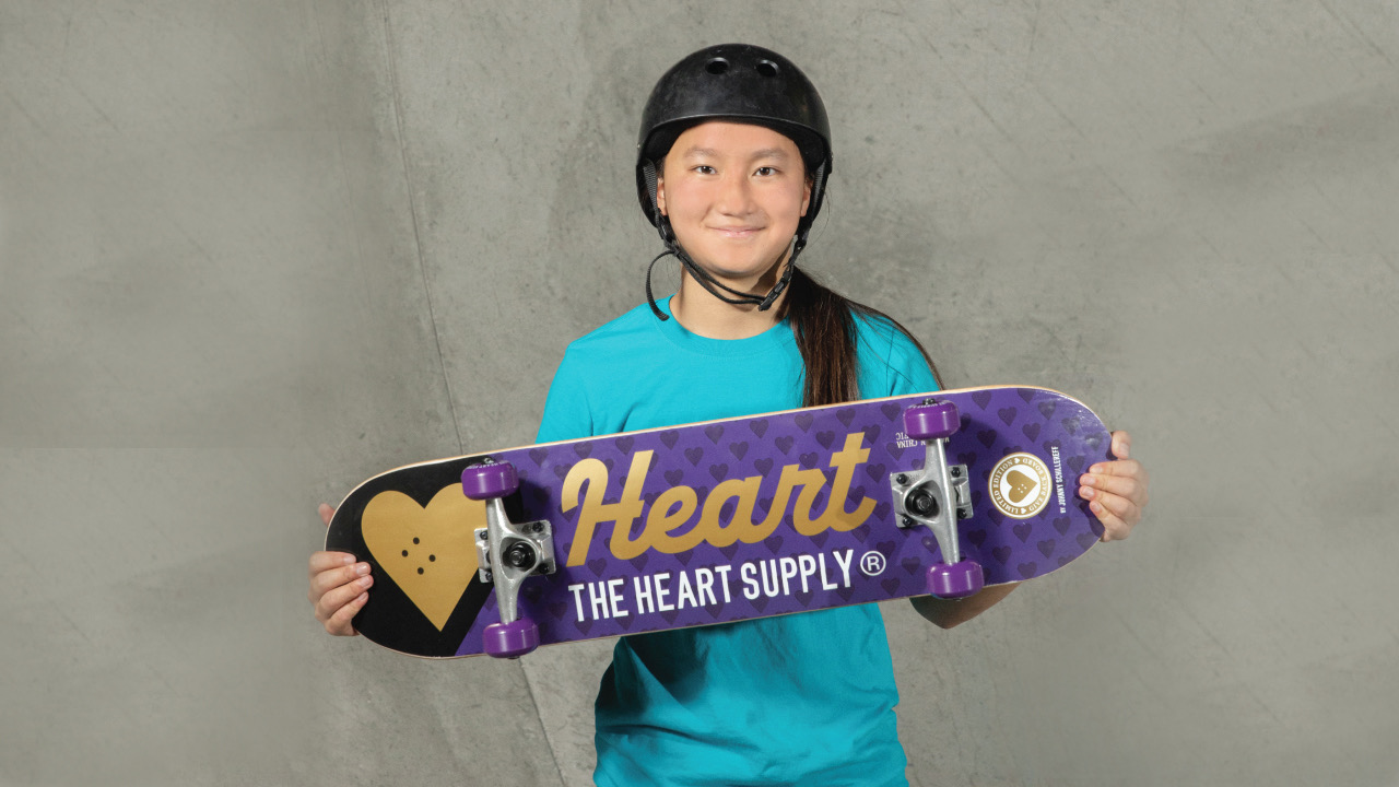 The Heart Supply x Target Launch Limited Edition Complete Skateboard